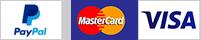 Pago seguro con tarjeta y PayPal