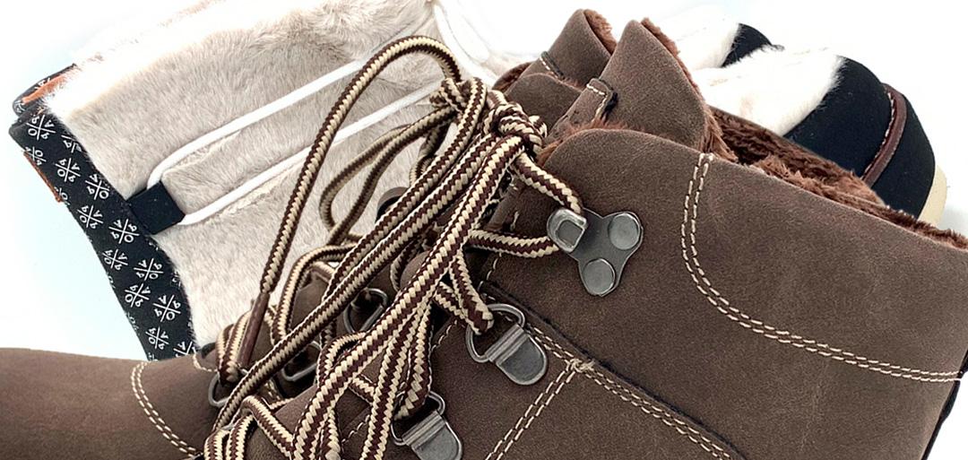 Botas forradas para el frío